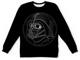 """Свитшот унисекс с полной запечаткой """"Дарт Вейдер (Darth Vader) """" - star wars, звездные войны, дарт вейдер, стар варс"""