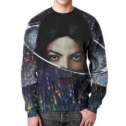 """Свитшот мужской с полной запечаткой """"Майкл Джексон (Michael Jackson)"""" - майкл джексон"""