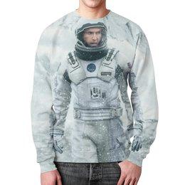 """Свитшот мужской с полной запечаткой """"Интерстеллар (Interstellar)"""" - interstellar, интерстллар"""