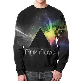 """Свитшот унисекс с полной запечаткой """"Pink Floyd , пинк флойд , музыка"""" - музыка, пинк флойд, pink floyd"""
