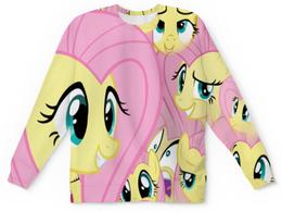 """Свитшот унисекс с полной запечаткой """"My Litle Pony"""" - животные, пони, my litle pony, искорка"""