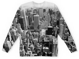 """Свитшот унисекс с полной запечаткой """"New York"""" - new york, нью-йорк, город"""