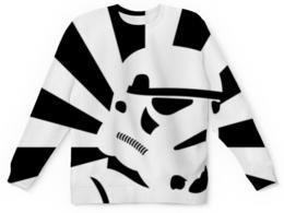 """Свитшот унисекс с полной запечаткой """"Штурмовик (Звездные войны)"""" - штурмовик, звездные войны, star wars, stormtrooper"""
