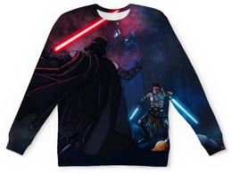 """Свитшот унисекс с полной запечаткой """"Star Wars (Звездные Войны)"""" - darth vader, anakin skywalker"""