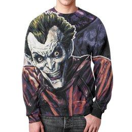 """Свитшот мужской с полной запечаткой """"Joker"""" - joker, комиксы, джокер, comix"""