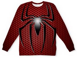 """Свитшот унисекс с полной запечаткой """"Человек-паук (Spider-man)"""" - паук, spider-man, человек-паук, питер паркер"""