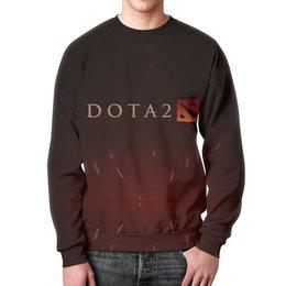 """Свитшот унисекс с полной запечаткой """"Dota 2"""" - арт, game, дизайн, день рождения, dota"""