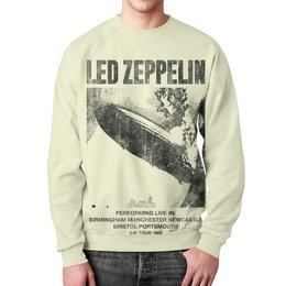 """Свитшот мужской с полной запечаткой """"Led Zeppelin"""" - музыка, рок, группы, rock and roll, led zeppelin"""