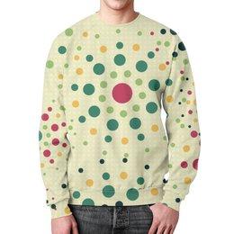 """Свитшот унисекс с полной запечаткой """"Круговой Орнамент"""" - цвета, круг, орнамент, цвет, круги"""