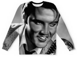 """Свитшот унисекс с полной запечаткой """"Элвис Пресли (Elvis Presley)"""" - элвис пресли"""