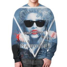"""Свитшот унисекс с полной запечаткой """"Мадонна (Madonna)"""" - madonna, мадонна"""