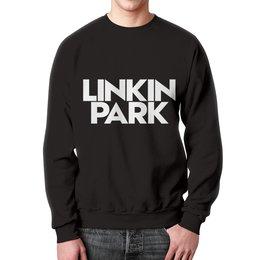 """Свитшот унисекс с полной запечаткой """"Linkin park"""" - музыка, рок, linkin park, линкин парк, рок группы"""
