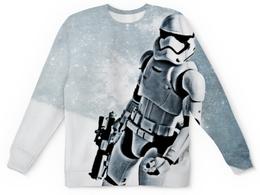 """Свитшот унисекс с полной запечаткой """"Штурмовик (Звездные Войны)"""" - star wars, stormtrooper"""
