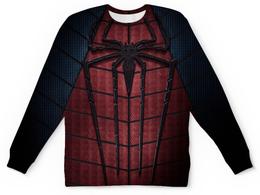 """Свитшот унисекс с полной запечаткой """"Человек-паук (Spider-man)"""" - spider-man, человек-паук, питер паркер"""