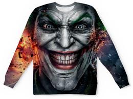 """Свитшот унисекс с полной запечаткой """"Джокер (Batman)"""" - joker, batman, джокер, бэтмен"""