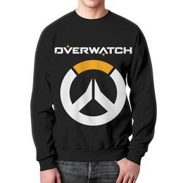 """Свитшот унисекс с полной запечаткой """"Overwatch"""" - компьютерные игры, геймерские, для геймеров, overwatch, овервотч"""