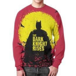 "Свитшот унисекс с полной запечаткой ""Batman (Бэтмен)"" - batman, бэтмен"