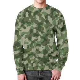 """Свитшот унисекс с полной запечаткой """"Комуфляж"""" - camouflage, camouflage texture"""