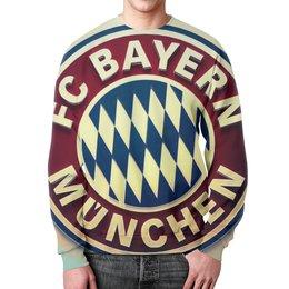 """Свитшот унисекс с полной запечаткой """"Бавария Мюнхен"""" - бавария, bayern"""