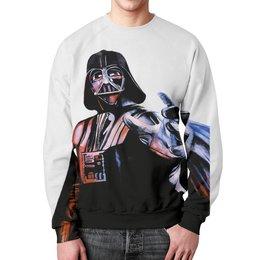 """Свитшот мужской с полной запечаткой """"Rise Lord Vader"""" - арт, star wars, звездные войны"""