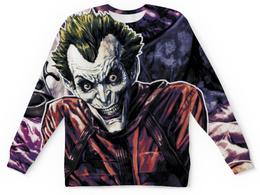 """Свитшот унисекс с полной запечаткой """"Joker"""" - джокер, joker, комиксы, comix"""