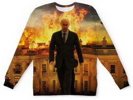 """Свитшот унисекс с полной запечаткой """"Путин (Putin)"""" - путин, putin"""