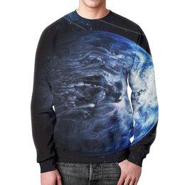 """Свитшот унисекс с полной запечаткой """"Neptune"""" - арт, космос, star wars, звездные войны"""