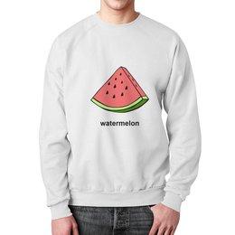 """Свитшот мужской с полной запечаткой """"Watermelon"""" - арт, fruit"""
