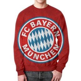 """Свитшот унисекс с полной запечаткой """"Бавария Мюнхен"""" - бавария мюнхен, bayern"""