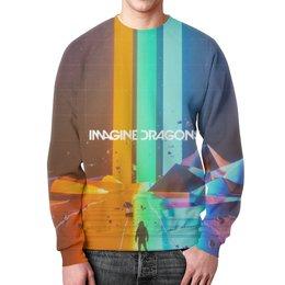 """Свитшот унисекс с полной запечаткой """"Imagine Dragons"""" - музыка, рок, imagine dragons"""