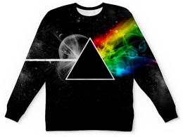"""Свитшот унисекс с полной запечаткой """"Pink Floyd"""" - музыка, рок, космос, пинк флойд, pink floyd"""