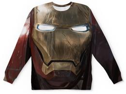 """Свитшот унисекс с полной запечаткой """"Iron Man (Железный Человек)"""" - железный человек, iron man, tony stark, тони старк"""