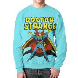 """Свитшот унисекс с полной запечаткой """"Доктор Стрэндж"""" - комиксы, супегерои, доктор стрэндж, doctor strange"""