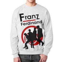 """Свитшот унисекс с полной запечаткой """"Franz Ferdinand"""" - franz ferdinand, франц фердинанд, музыка, группы, пост панк"""