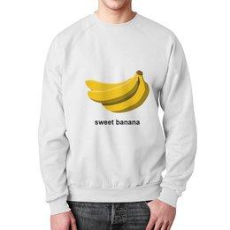 """Свитшот мужской с полной запечаткой """"Banana"""" - арт"""