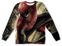 """Свитшот унисекс с полной запечаткой """"Человек-паук (Spider-man)"""" - spider-man, марвел, человек-паук, питер паркер"""