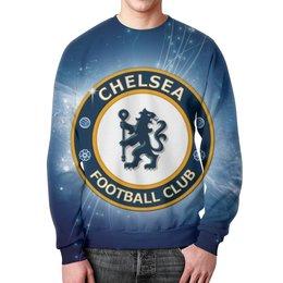 "Свитшот унисекс с полной запечаткой ""Chelsea (Челси)"" - челси, chelsea"