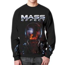 """Свитшот мужской с полной запечаткой """"Mass Effect"""" - компьютерные игры, mass effect, n7, масс эффект, геймерские"""
