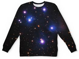 """Свитшот унисекс с полной запечаткой """"Космос (space)"""" - space, звезды, космос, вселенная, галактика"""