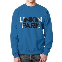 """Свитшот мужской с полной запечаткой """"Linkin park"""" - музыка, рок, linkin park, линкин парк, рок группы"""