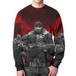 "Свитшот унисекс с полной запечаткой ""Gears of War"" - gears of war"
