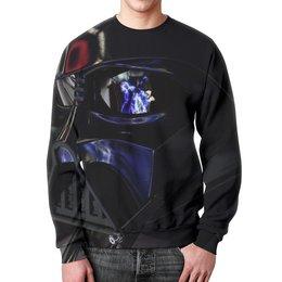 """Свитшот мужской с полной запечаткой """"Darth Vader (Star Wars)"""" - star wars, darth vader, звездные войны, дарт вейдер"""