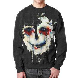 """Свитшот мужской с полной запечаткой """"Череп (skull)"""" - skull, череп, хэллоуин, зомби, мертвец"""