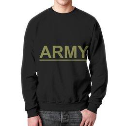 """Свитшот мужской с полной запечаткой """"ArmyRussia"""" - армия, army, россия, 13, солдат"""