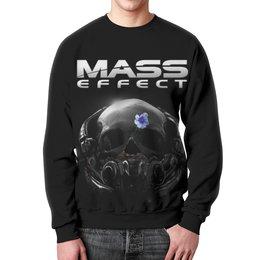 """Свитшот унисекс с полной запечаткой """"Mass Effect"""" - mass effect, компьютерные игры, геймерские, масс эффект, n7"""