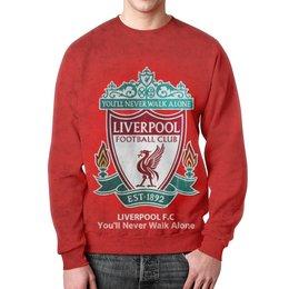 """Свитшот унисекс с полной запечаткой """"Liverpool (Ливерпуль)"""" - liverpool"""