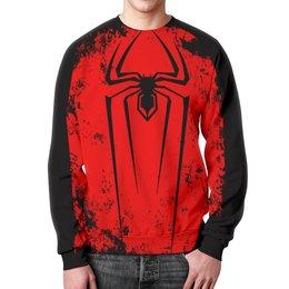 """Свитшот унисекс с полной запечаткой """"человек паук"""" - человек паук, spiderman, питер паркер"""