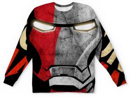 """Свитшот унисекс с полной запечаткой """"Iron Man (Железный Человек)"""" - мстители, марвел, железный человек, iron man, tony stark"""