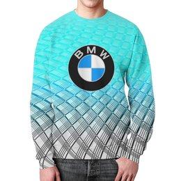 """Свитшот унисекс с полной запечаткой """"Авто BMW"""" - авто, bmw, автомобили, машины, бмв"""
