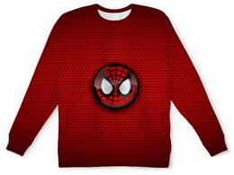 """Свитшот унисекс с полной запечаткой """"Человек-паук"""" - spider-man, питер паркер"""